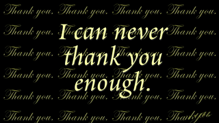 transcript: Thank you 