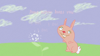 transcript: Some bunny loves you