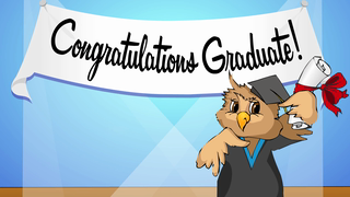 transcript: Congratulations Graduate!