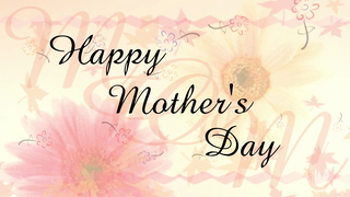 transcript: For a Mom who always knows how to make my day beautiful. I hope I can make your day beautiful. Happy Mother's Day