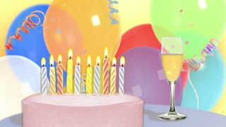 transcript: I couldn't ask for a better husband, Let's make your Birthday Wonderful! Let's celebrate! Happy Birthday!