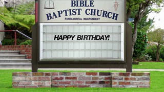 transcript: BIBLE BAPTIST CHURCH