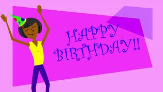 Happy birthday ebony