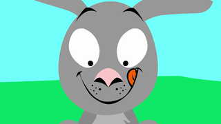 transcript: All those birthdays and only one grey hare!