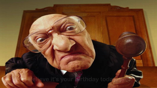 transcript: I believe it's your birthday today, yes?