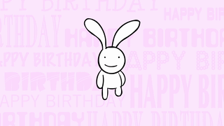 transcript: On this special day... I want to show you how much I love you ...well maybe not quite that much. BIG BUNNY HUGS to you this Birthday