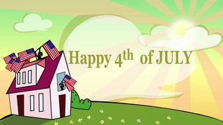 transcript: On this very special Day May the Glory of INDEPENDENCE Shine upon the NATION Happy 4th of July