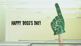 transcript: Being the boss isn't always fun