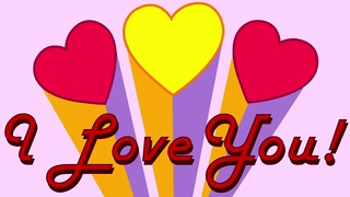 transcript: Song:  Love! It's you that I love! You are loved yes you are with a lovin' kind of love! I love you! with a love that is rare and true I <3 U and there's nothing that you can do HAPPY VALENTINE'S DAY with Love L-O-V-E spells LOVE!