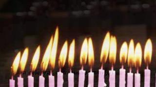 Tantas velas!