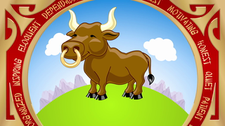 transcript: Year of the Ox Oxen are Determined Calm and quiet They are good listeners They are also eloquent speakers have a Happy (and eloquent) Birthday