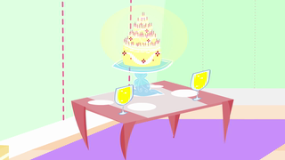 transcript: For your seventy years, give or take I'm giving you this five-layer cake. It's made of cream, spices and sugar,it's true I hope this cake becomes as sweet as you, The table's all set with glasses and dishes In hope that you are granted all seventy wishes! Happy 70th Birthday!