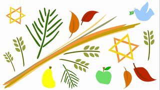 transcript: On Sukkot we give thanks as we remember how our people dwelt in temporary shelters in the wilderness for 40 years after God saved us from captivity in Egypt.