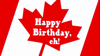 Birthday Wishes Canadian Cards