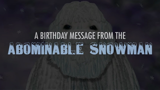 transcript: A birthday message from the 