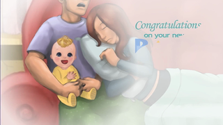 transcript: Congratulations on your new baby!