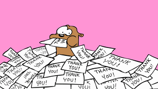 transcript: i can't thank you enough  Thank you!