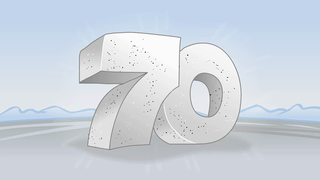 transcript: Have a monumental 70th birthday!