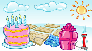 transcript: Instant summer birthday