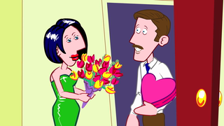 transcript: Adventures of an ANNIVERSARY FAIRY And you thought he'd forget! Happy Anniversary!