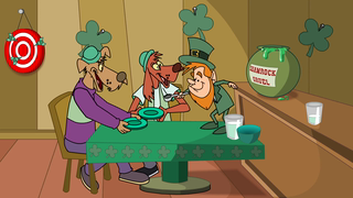 transcript: Voice:  It's St. Paddy's Day!! Watch in amazement, as people eat cooked cabbage and pretend they like it! Thrill as your friends try to talk with an Irish accent! What?? I dunno! marvel, as people consume beverages that have been dyed  colors, beverages aren't supposed to be dyed!!Steal your eyes from all that green America , as people desperately try to avoid getting pinched St. Patty's Day!Be theeeeerrrrre. Text: Happy St. Patrick's Day Take it to the Extreme!!!