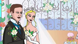 transcript: Congratulations on your wedding day!