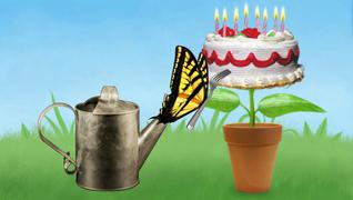 transcript: Grattis på födelsedagen
