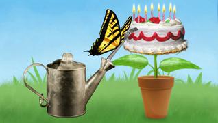transcript: สุขสันต์วันเกิด!