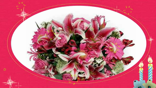 transcript: A bouquet of many wishes for ever-lasting love