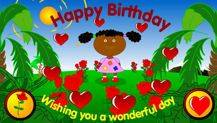 Transcript Happy Birthday Wishing You A Wonderful Day
