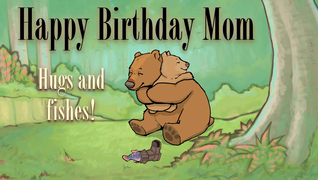 transcript: Happy Birthday Mom