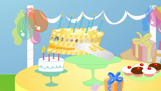 transcript: 비행기에서 생일 파티