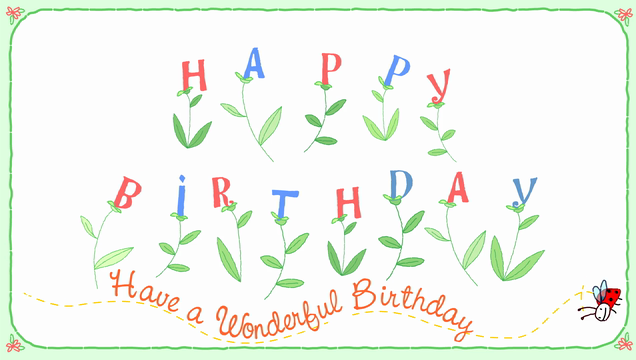 Birthday Alarm Greeting Cards And Reminders