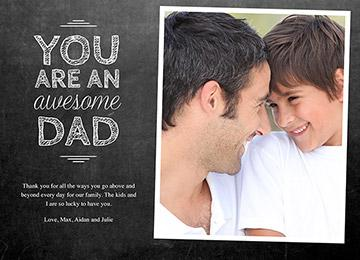 transcript: You are an awesome dad.
