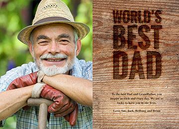 transcript: World's best dad