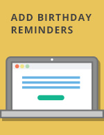 Add Reminders